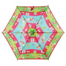 Зонтик детский трость Airton 1551-9070 Цветные домики