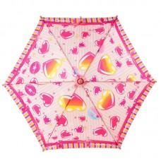 Зонтик детский трость Airton 1551 Сердечки