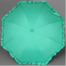 Зонтик с рюшами детский Airton 1552 Зеленый