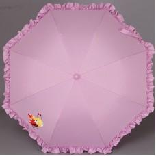 Зонтик трость детская с рюшами Airton 1552