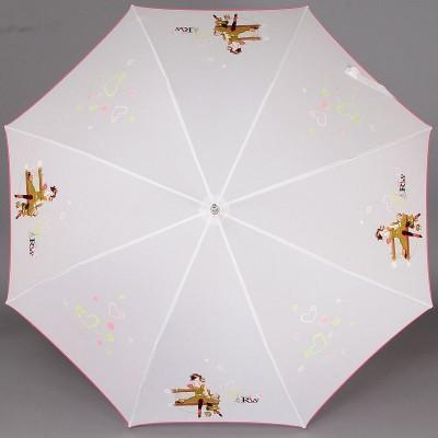 Белый зонт трость Airton 16255-39 Paris