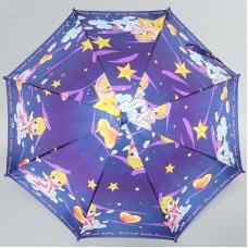 Зонт-трость Airton детский 1651 Космическая девочка
