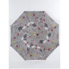 Зонт полуавтомат Airton 3617-326 Love... Kiss... Paris...