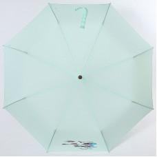 Зонт однотонный полуавтомат с деревянной ручкой Airton 3631-195