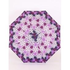 Зонтик полуавтомат Airton 3635-246 Цветочный калейдоскоп