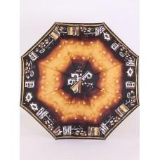 Зонт с деревянной ручкой полуавтомат Airton 3635-002 Греческий рисунок