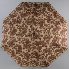 Зонт Airton женский 39155-77 Коричневые узоры