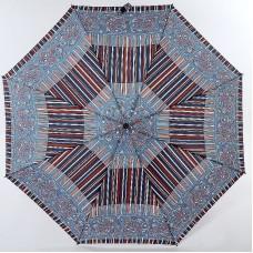 Зонтик в полоску с узорами по канту Airton 3915s-126