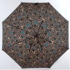 Женский зонт (полный автомат) купол 100см, 28см, 370гр Airton 3915s-145 Домики