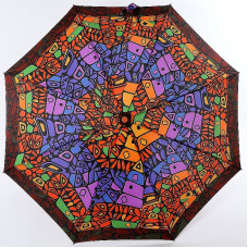 Зонтик женский (полный автомат) Airton 3915s-313 Витраж