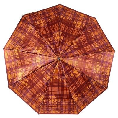 Сатиновый зонтик Airton 3944 Клетка в узорах