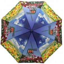 Женский зонтик Ame Yoke OK58 Тюльпаны
