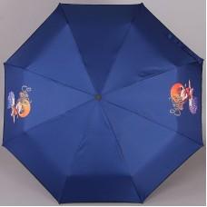 Зонт компактный (24 см, механика) ArtRain арт.3517-1732 Surf's Up
