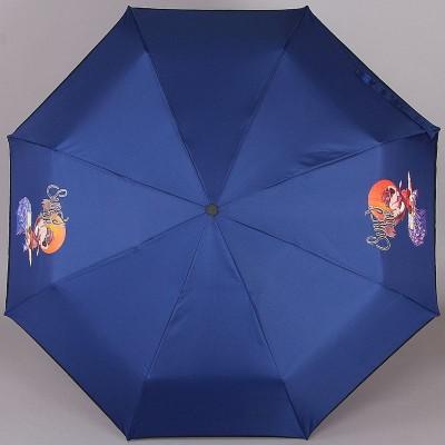 Зонт компактный (24 см, механика) ArtRain 3517 Surf's Up