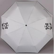 Компактный (24 см) серый зонтик ArtRain арт.3517-1735