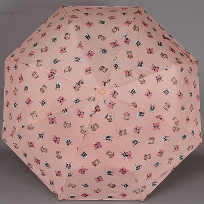 Зонтик женский ArtRain 3615 Собачки