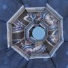 Зонт ArtRain арт.3615-08 полный автомат Горошек в узорах