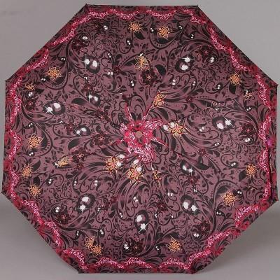 Женский зонт полный автомат ArtRain арт.3615-01 Цветочные узоры