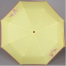 Желтый женский зонтик ArtRain арт.3911-1714 Бабочка