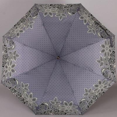 Женский зонт ArtRain арт.4916-1647 Горошек с узорами