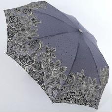 Серый зонт в горошек супер мини (механика) ArtRain арт.5316-1647