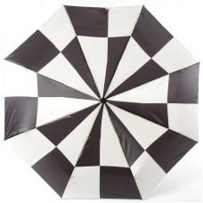 Зонт женский Doppler 744765 BE Чёрно-белая клетка
