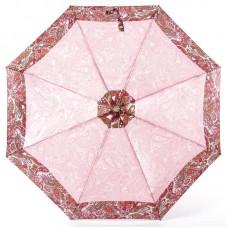 Зонт женский Doppler 744765 PE Paisley Турецкие огурцы в розовых тонах с кантом