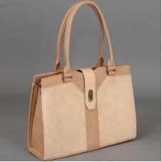 Бежево - телесная сумочка - портфель