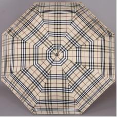 Бежевый зонт Fabretti FCH-2 клетка Burberry