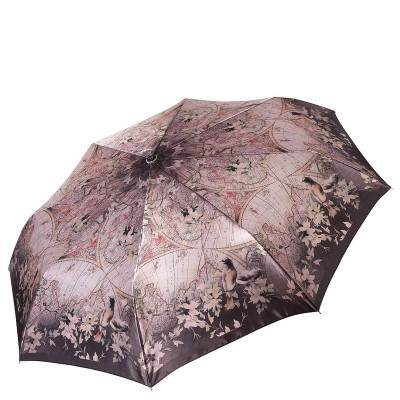 Женский зонт Fabretti L-16111-4 Кругосветное путешествие