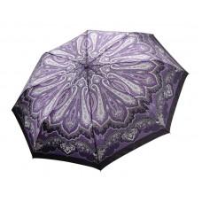 Зонтик фиолетовый в узорах Fabretti S-16100-6