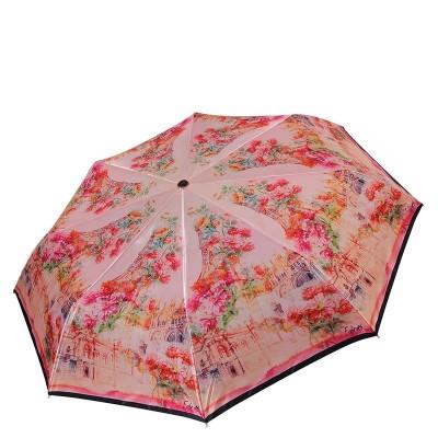 Женский зонт Fabretti S-17101-3 Париж в цветах