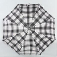 Зонт женский Fulton J346-2291 Gray Check Серая клетка