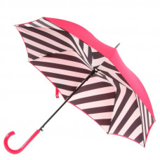 Зонт-трость женская Lulu Guinnes by Fulton L723-2550 Bloomsbury-2 Diagonal Stripe