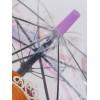 Зонтик трость прозрачный со свистком Galaxy C-511-9803 Sofia