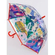 Зонт трость со свистком Galaxy C-522-9802 Blaze y los monster machines