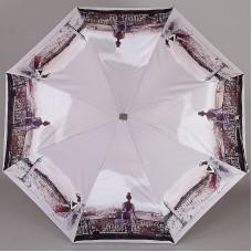 Плоский женский зонт Lamberti 73715-1817 Прекрасные парижанки Софи Гриотто