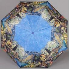Зонтик плоский полный автомат Lamberti 73715-1815 Побережье озера Гарда