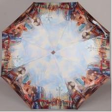 Женский плоский зонтик Lamberti 73715-1812 Чикаго