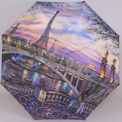 Зонтик женский полный автомат Lamberti 73748-1822 Романтичный Париж