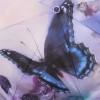 Зонт женский с бабочками (350гр, 104см, полный автомат) Lamberti 73748-1826