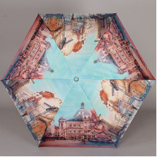 Легкий зонт полный автомат Lamberti 73826-1804 Городские зарисовки