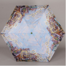 Женский зонт легкий полный автомат Lamberti 73826-1851 Цветущая Венеция