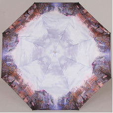 Зонт женский (купол 104см, 29см, 420гр) Lamberti 73945-1816 Старая Москва