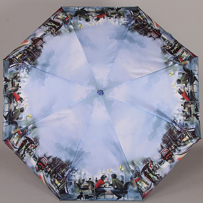 Зонт женский мини (22см) Lamberti 74745-07 Романтические встречи