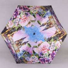 Женский мини (21см) зонт полный автомат Lamberti 74749-1876 Романтичная Прага
