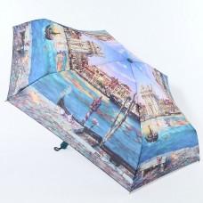 Женский зонтик мини (22см, 350гр) полный автомат, купол-100см Lamberti 74946-1801 Венеция