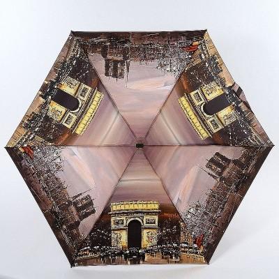 Плоский зонт механика Lamberti 75116-1805 Вечерний Париж