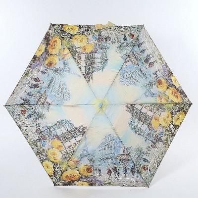 Зонтик женский супер мини Lamberti 75116-1850 Париж в розах