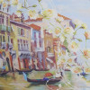 Женский зонт супер мини Lamberti 75116-1851 Венеция в цветах